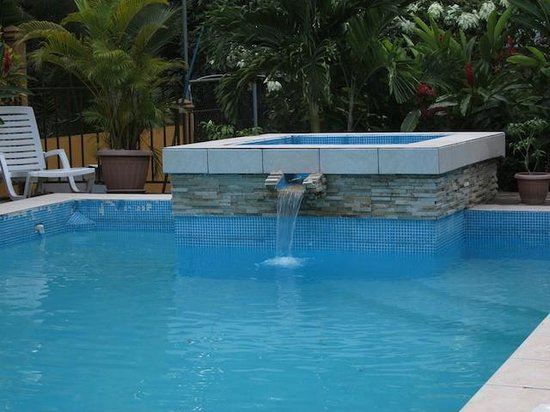 Coconut Lodge: Jacuzzi by the pool