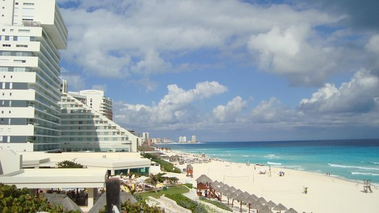 Park Royal Cancun:                   Praia
