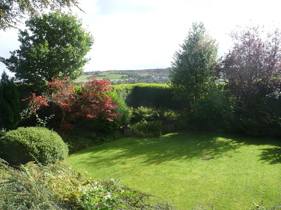 Ashmount Country House:                   view across the from the garden