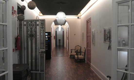 Casa Gracia:                   A hallyway