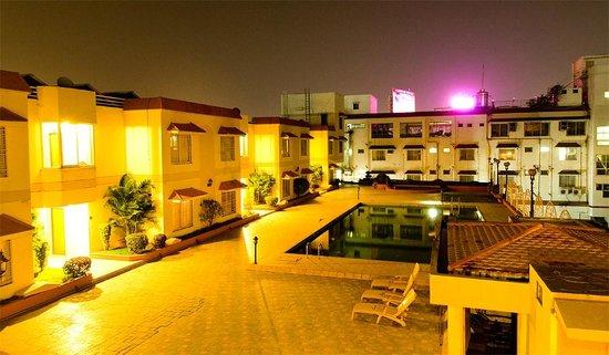 Hotel Atithi :                                     NIGHT VIEW