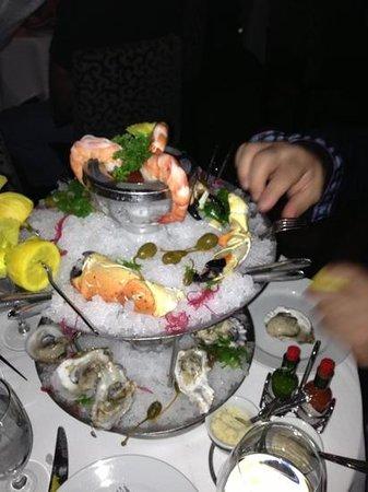 Mastro's Ocean Club: seafood tower