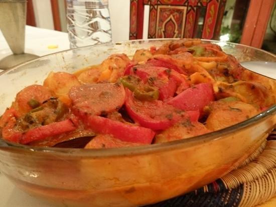 Riyad Lila Wa Leila:                   絶品のお魚のタジン