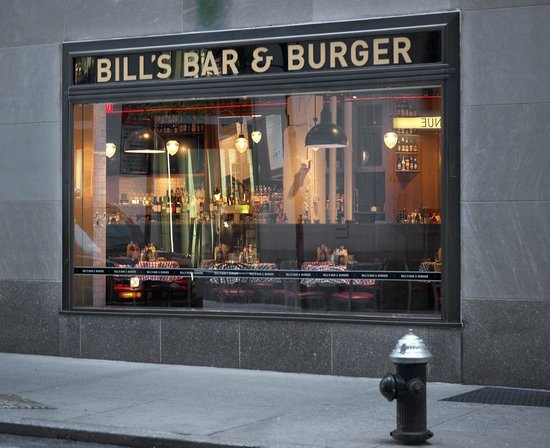 Photo of American Restaurant Bill's Bar & Burger at 16 W 51st St, New York, NY 10111, United States