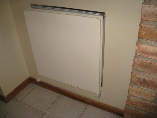 Cabanas Andinas: calefaccion