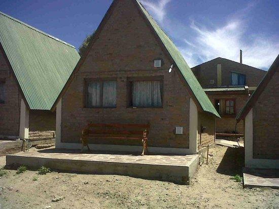 Cabanas El Cristal:                   la cabaña 4 desde la parte de atras