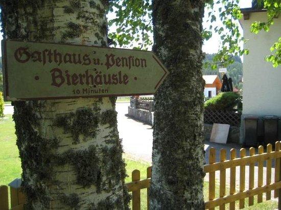 Landhotel Bierhäusle: to the Bierhaeusle