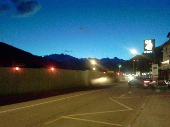 Hotel Le Pageot :                   tramonto dalla camera
