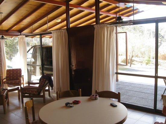 Cabanas Andinas: vista desde el comedor