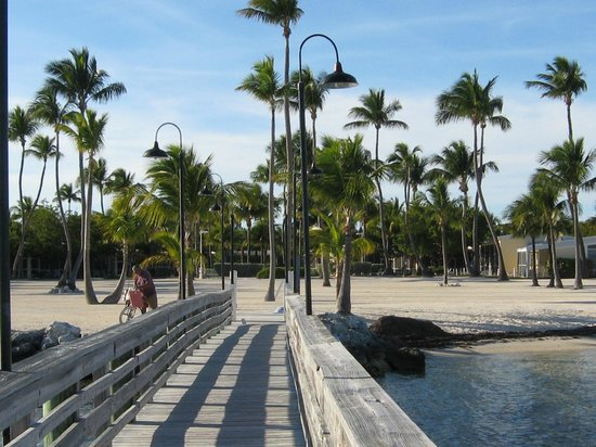 Islander Resort:                   View of grounds from the dock