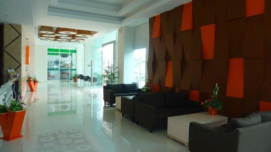 V Hotel & Residence:                   lobby