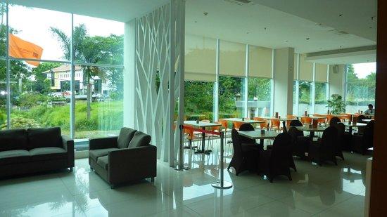 V Hotel & Residence:                   dining hall
