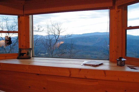 Chilhowee Mountain Retreat:                   vista da janela