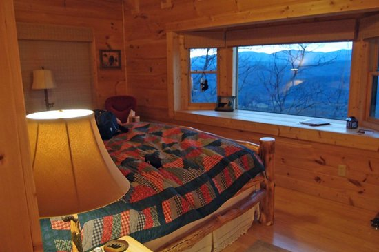 Chilhowee Mountain Retreat:                   vista do quarto