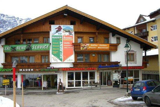 Hotel Hubertushof: Hotelvorderfront