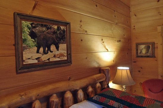 Chilhowee Mountain Retreat:                   quarto do urso