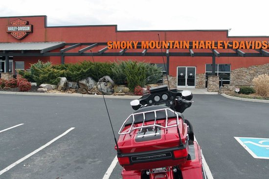Chilhowee Mountain Retreat:                   concessionária da harley perto do hotel