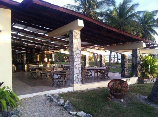 Villa Marinera:                                     La terrasse du resto