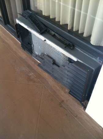 Sawgrass Inn & Conference Center:                   Air Conditioner in need of repair