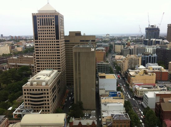 Meriton Suites Campbell Street, Sydney:                   View from the room