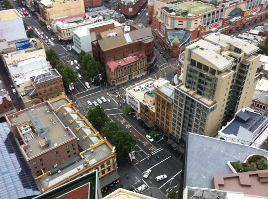 Meriton Serviced Apartments Campbell Street:                   View from the room