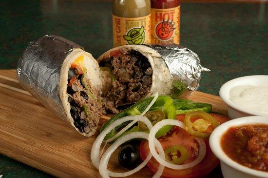Pepperjax Grill: GIANT Steak Wrap