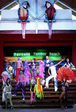 Barcelo Tambor Beach: Animación