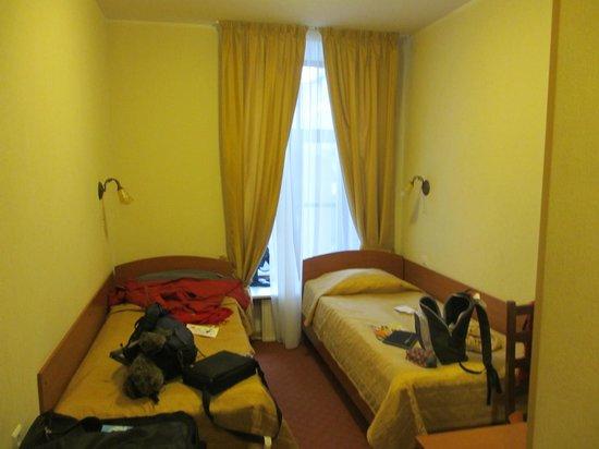 Hotel Moyka 5:                   chambre du 2ème étage