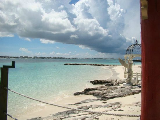 Sandals Royal Bahamian Spa Resort & Offshore Island:                   another view from the private island