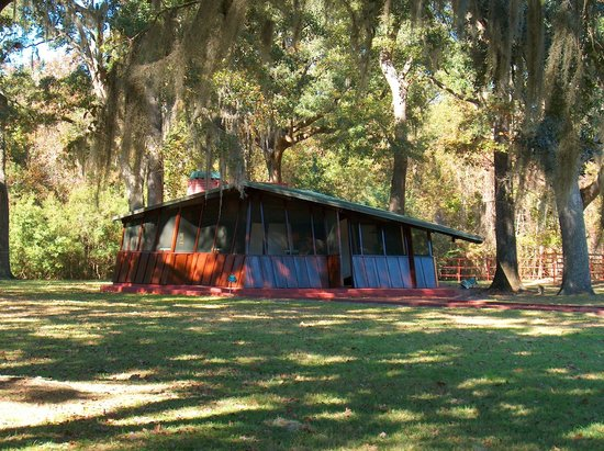 Auldbrass Plantation:                   Guest Cabin