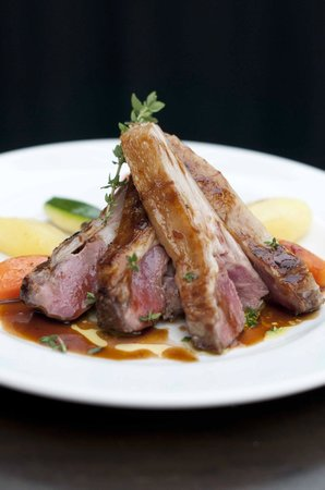 All in 1 Cafe: Grilled Rack of Lamb