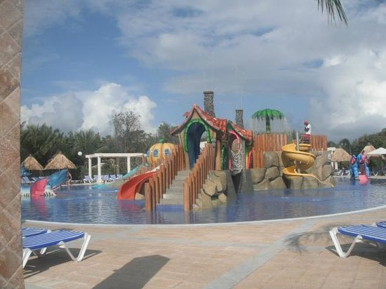 Grand Bahia Principe Punta Cana:                   Kid's area