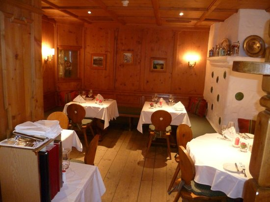 Sporthotel Reisch:                   One of the dining areas