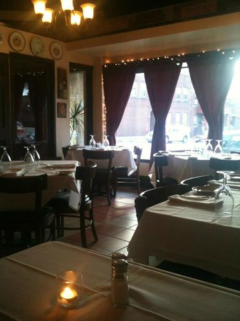 IL Bacio:                   View from our table.