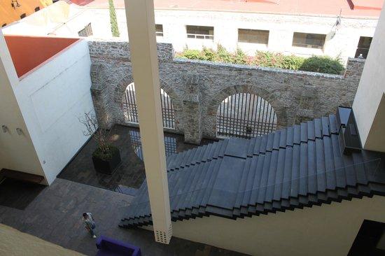 La Purificadora:                   Vista desde el piso de habitaciones