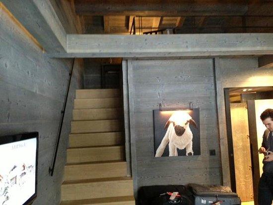 Signature Double-Decker Room - Picture of Alpaga, Megeve - TripAdvisor