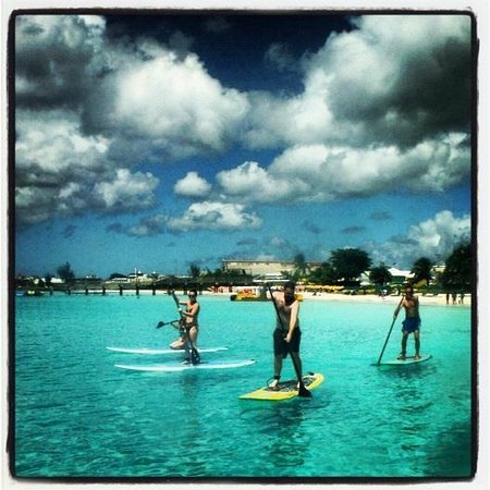 SurfSUP Paddleboarding: Paddling in front of the Boatyard