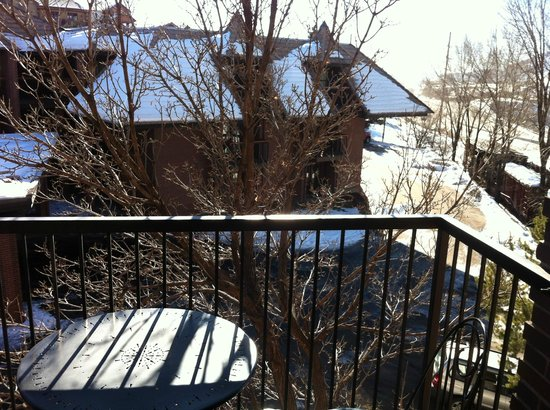 Wyndham Durango: Balcony (Best Western across the street)