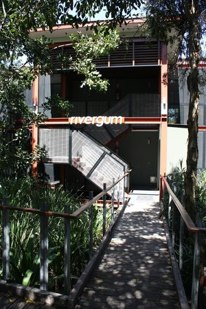 The Byron at Byron Resort & Spa:                   Entrance