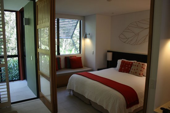 The Byron at Byron Resort & Spa:                   bedroom with flex walls
