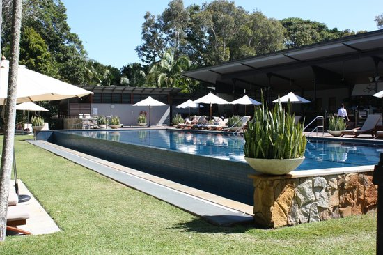 The Byron at Byron Resort & Spa:                   Relaxation poolside