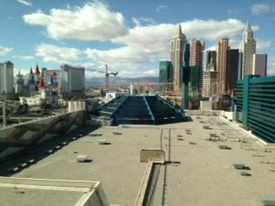 MGM Grand Hotel and Casino: View from room 13-320
