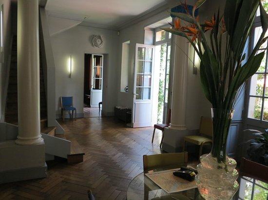 La Maison Bord'eaux:                   particolare della hall