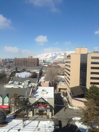 Hotel RL By Red Lion Salt Lake City: View from my room