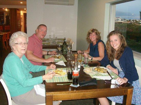 Praia Grande Restaurante & Bar: Family happy, grand mam, mam, dad & daughter.