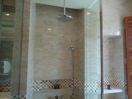 The Danna Langkawi:                                     nice, clean bathroom