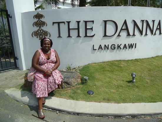 The Danna Langkawi:                                     hotel entrance