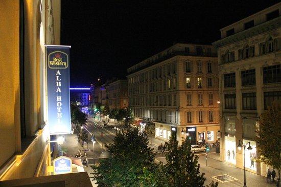 Best Western Alba Hotel: Avenue Jean Medecin