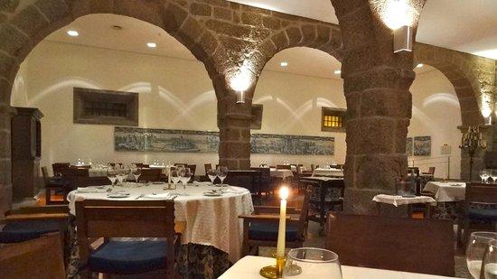 Pousada Mosteiro Guimarães: Restaurant
