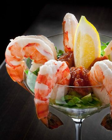Hideaway Steakhouse: Shrimp Cocktail